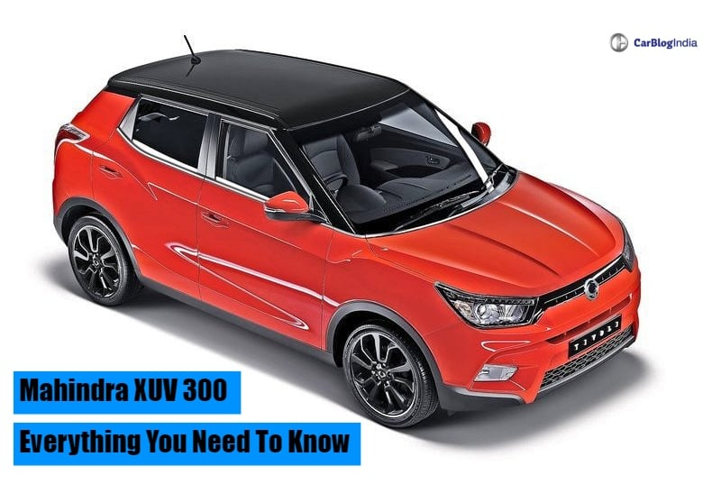 Mahindra XUV 300 Launch Date, Price, Specifications, Mileage, Interior