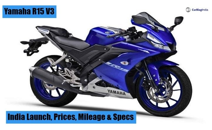 Yamaha r15 v3 price in india mileage top speed features for Yamaha r3 mpg