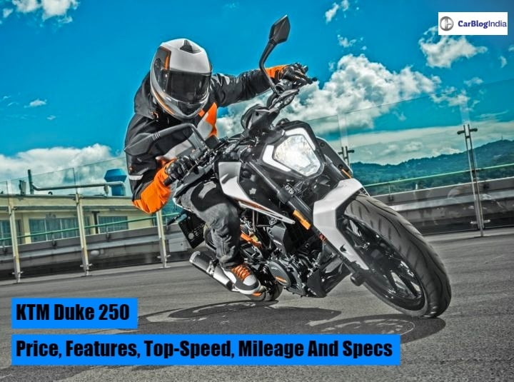 KTM Duke 250 Price, Top Speed, Mileage, Specifications And Features