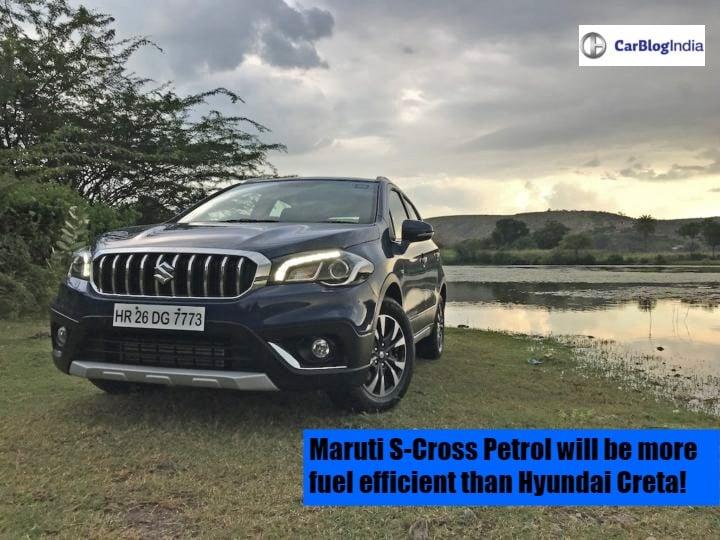 Maruti s-cross petrol front image