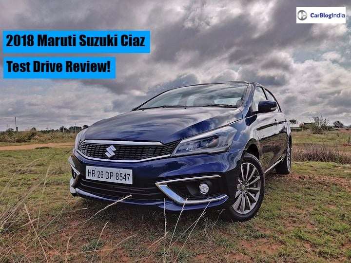 2018 Maruti Ciaz Review- Evolved Performance