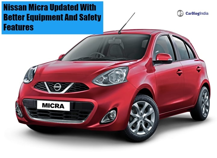 Nissan Micra Updated With Better Equipment And Safety Features