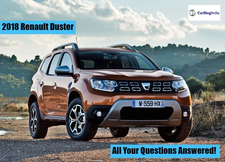 2018 Renault Duster Next-Generation: All Questions Answered