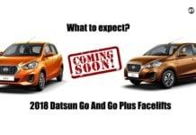2018 Datsun GO and GO+
