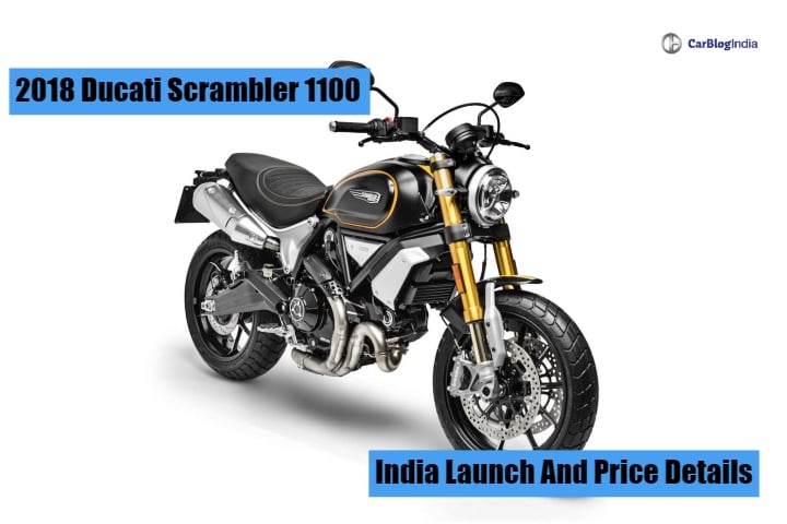 Ducati Scrambler 1100 Price Details Revealed; To Launch Next Month