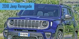 Jeep Renegade India Launch Price Interiors Features And Specs