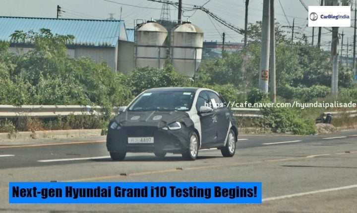 Hyundai Grand I10 Hatchback Next Generation Iteration Testing Begins
