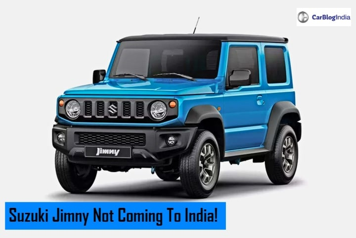 Suzuki Jimny India Launch Cancelled; Swift Sport Plans Also Dropped