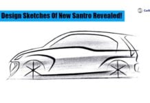 Santro Design Sketch Image