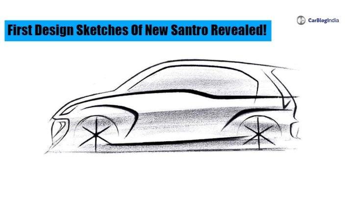 Santro Design Sketch Image