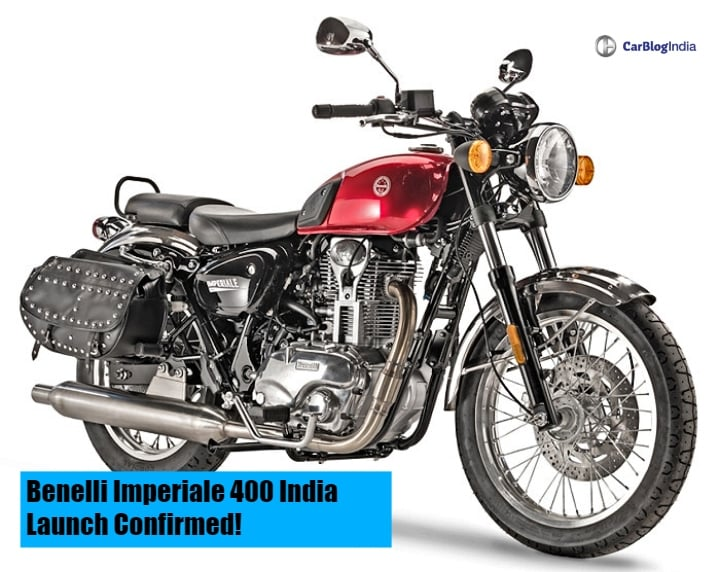 Benelli Imperiale 400 India Launch Confirmed For 2019- What To Expect?