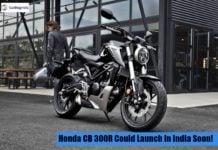 Honda CB 300R front left image
