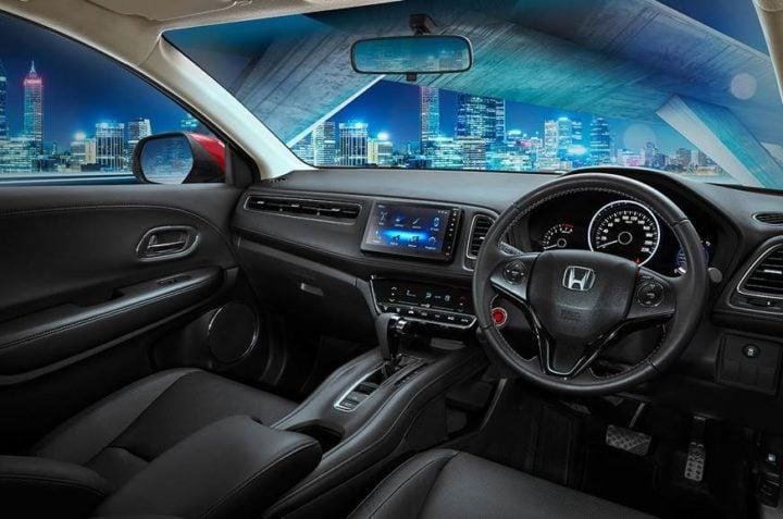 Honda HR-V Facelift Interiors