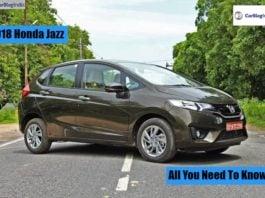 2018 Honda Jazz hatchback Image