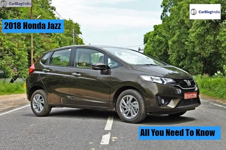 Honda Jazz 2018 Price In India