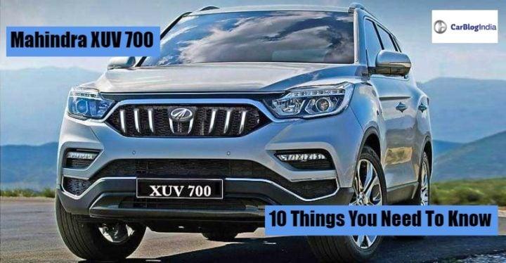 Mahindra XUV 700 SUV