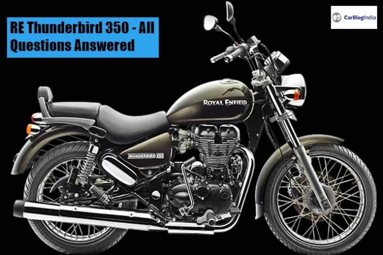 Royal Enfield Thunderbird 350- All Your Questions Answered