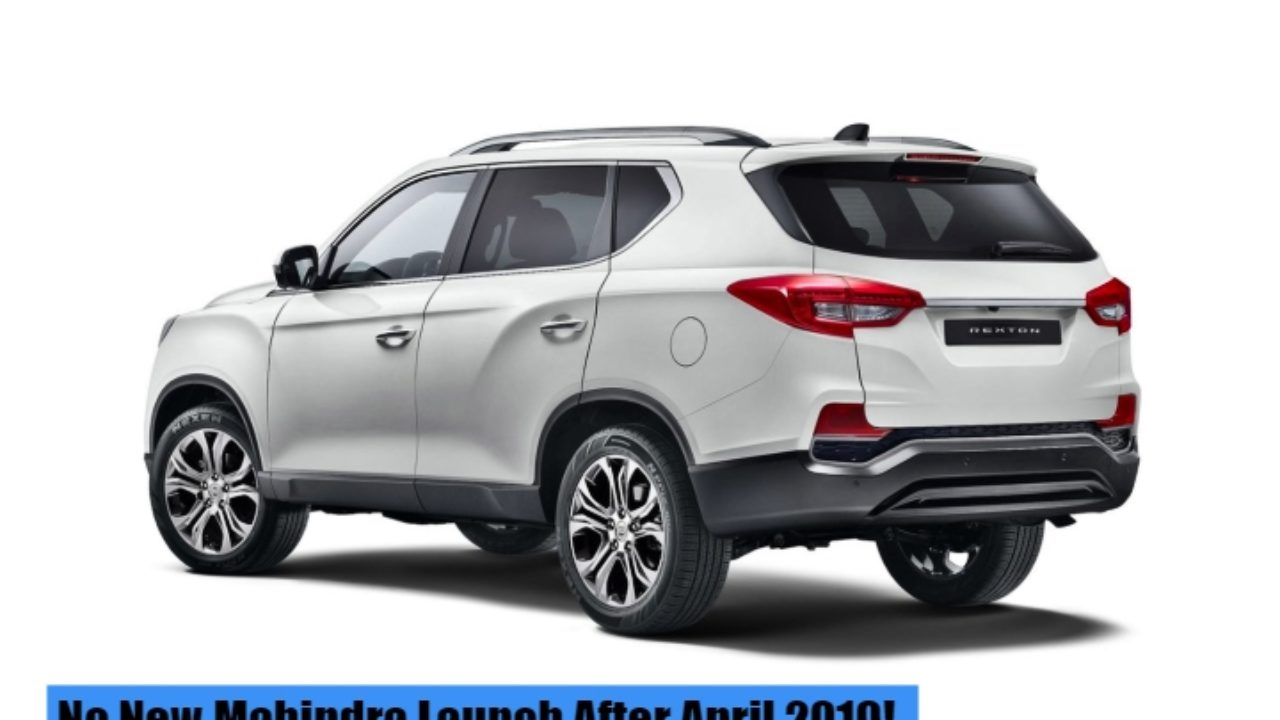 Mahindra To Stop New Product Launches Starting April 2019 For A Year