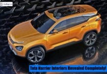 Tata harrier interiors image