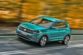 Volkswagen t-cross motion image
