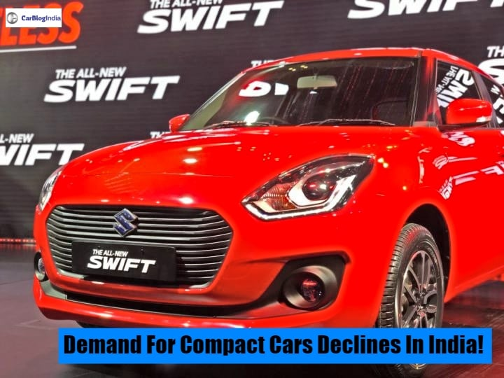 Demand for compact cars declines in India; Buyers preferring pre-used cars instead