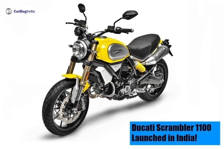 Ducati Scrambler 1100 launched in India; Special and Sport editions also introduced