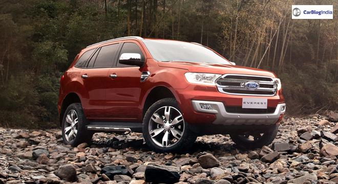 Ford Endeavour Facelift (Ford Everest)