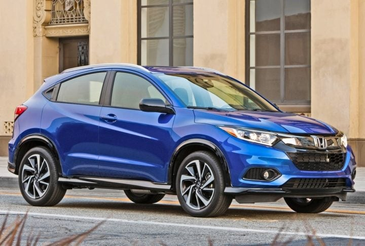 honda hr-v side image