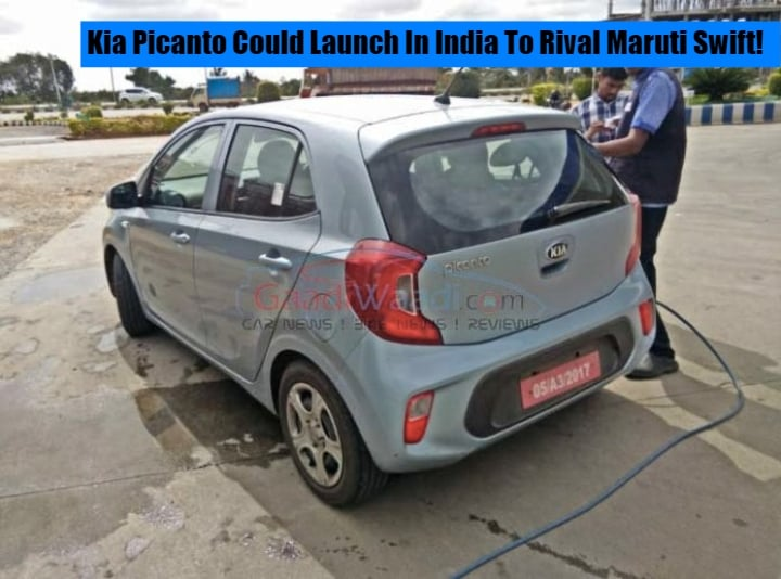 Kia Picanto could launch in India to rival Maruti Swift- Spotted Testing