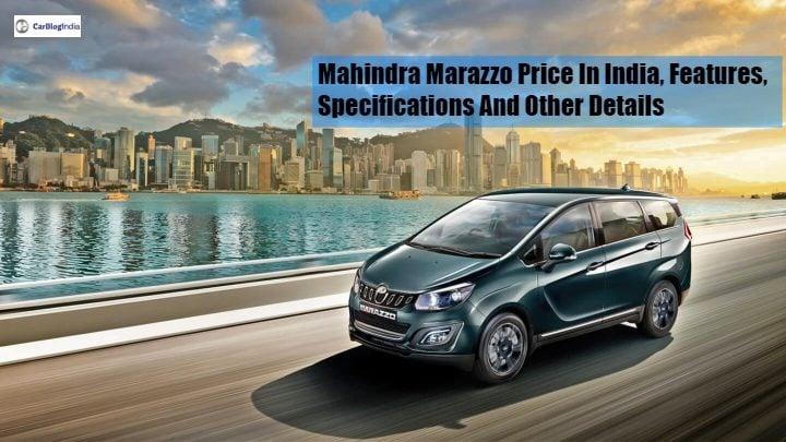 mahindra marazzo front image