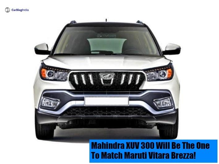 mahindra xuv 300 front image