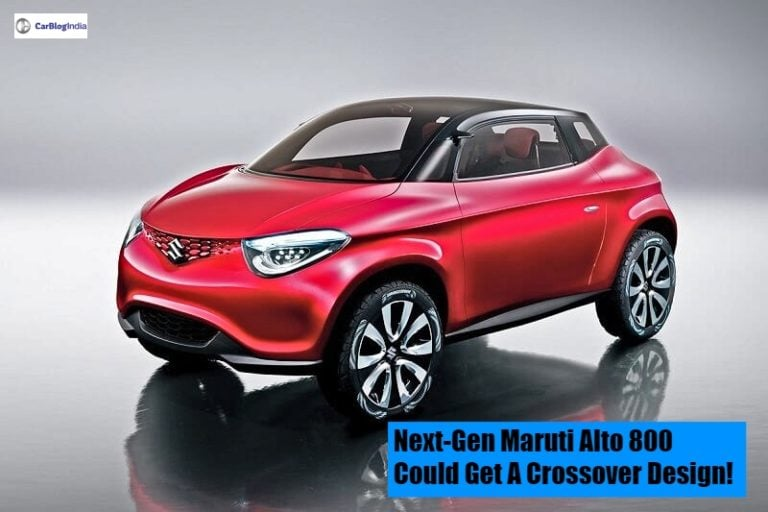 Next Generation Maruti Alto 800 could have a Crossover design and Touchscreen Infotainment system