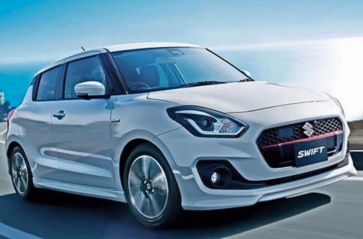 maruti swift rs front image