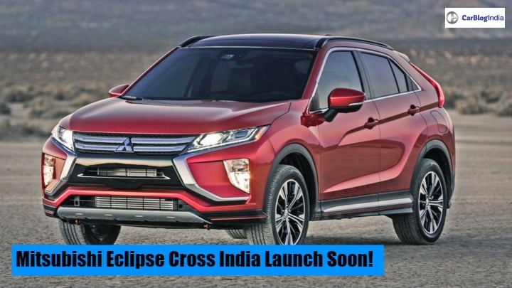Mitsubishi Eclipse Cross SUV India Launch On The Cards