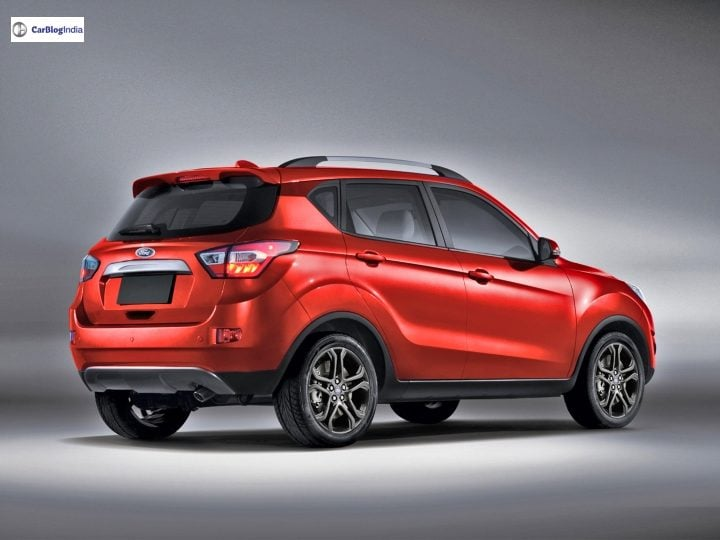 new ford ecosport rear rendering image