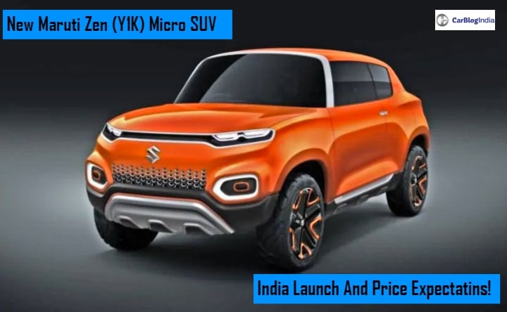 New Maruti Zen (Y1K) India Launch, Price Expectations, Features, Mileage And Specifications