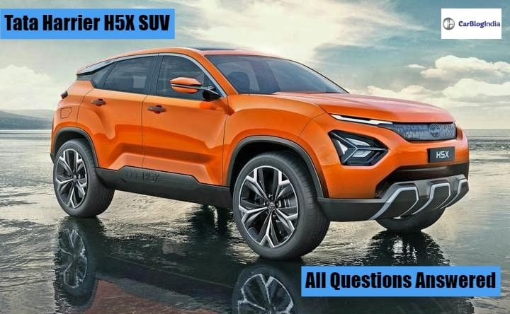 Tata H5X (Harrier) SUV