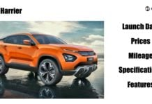 tata harrier launch date price mileage image