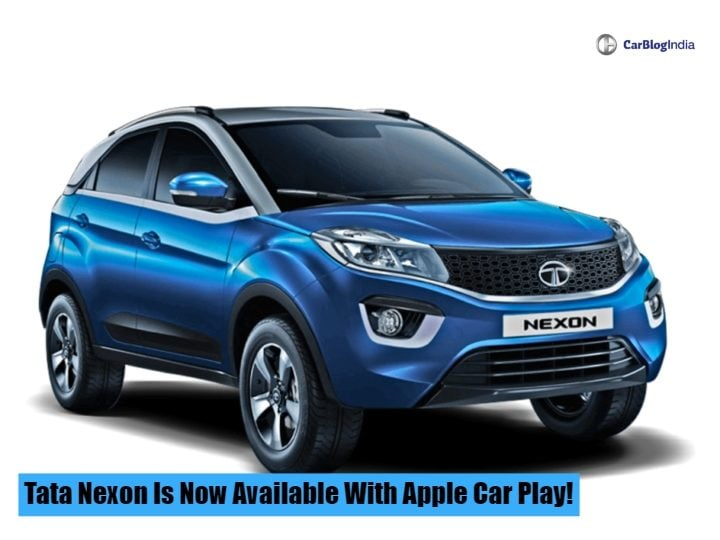 Tata Nexon Apple Car Play