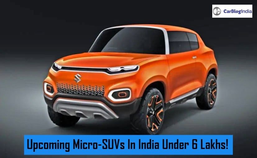 Upcoming Micro SUVs Under 6 Lakh In India - Maruti Zen And ...