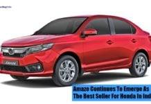 2018 Honda amaze front image