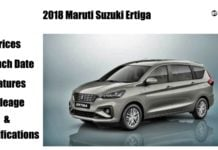 2018 Maruti Ertiga featured image