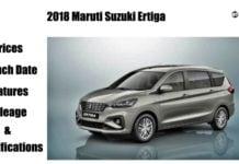 2018 Maruti Ertiga featured image