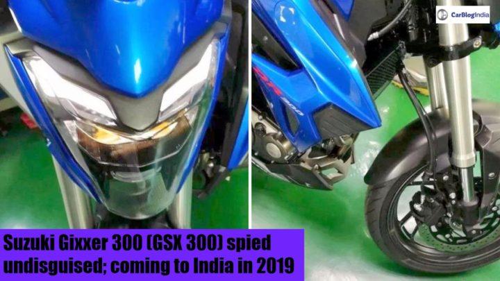 2019 Suzuki Gixxer 300