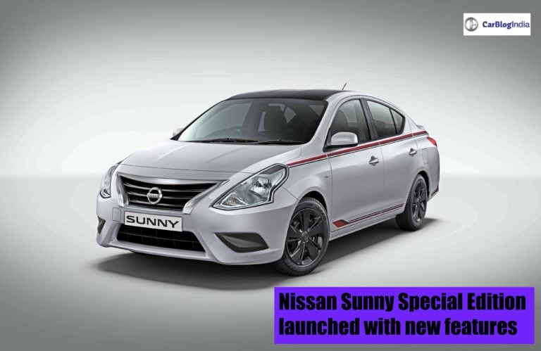 Nissan Sunny Special Edition launched with new features