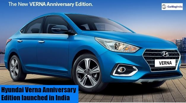 Hyundai Verna Anniversary Edition Launched; Gets Wireless Charging And More