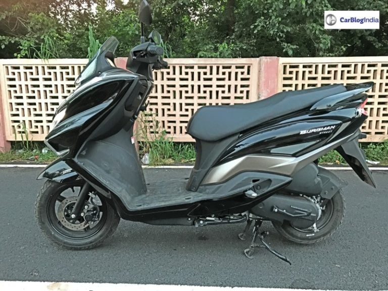 Suzuki Burgman Street 150 Could Be Seen At The 2020 Auto Expo!
