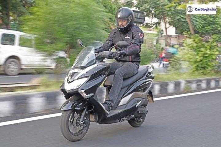 Suzuki Burgman Street Review