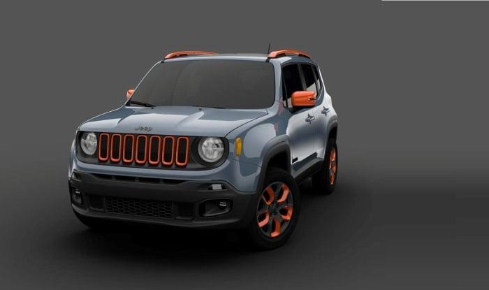 Maruti Vitara Brezza rival jeep suv front image