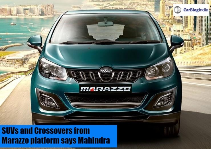 Mahindra Marazzo Mpv Launched In India At A Starting Price